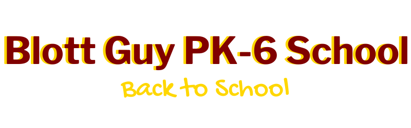 PK6 Back to School