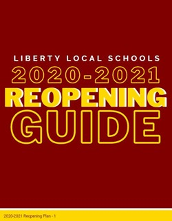 Liberty Reopening Guide